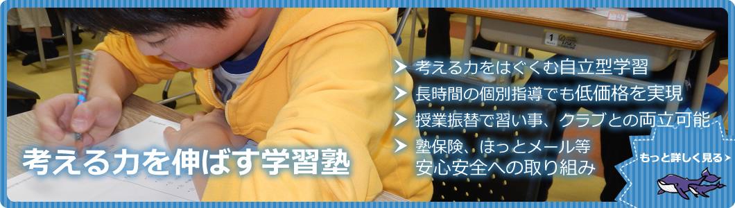 大学・高校・中学受験は個別指導のパシフィック・セミナー(くじら塾)